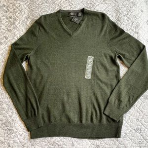 Calvin Klein pullover sweater NWT men -M 100% Wool
